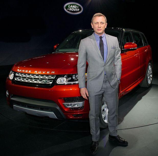 Daniel Craig, Range Rover Sport launch