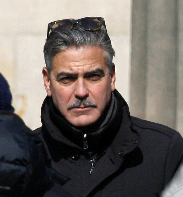 The Monuments Men, George Clooney, moustache