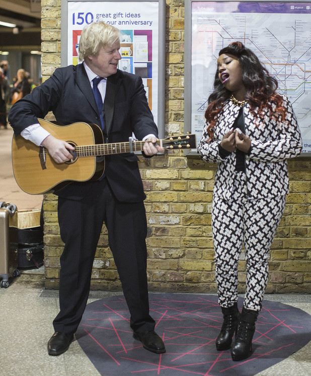 Boris Johnson and Misha B