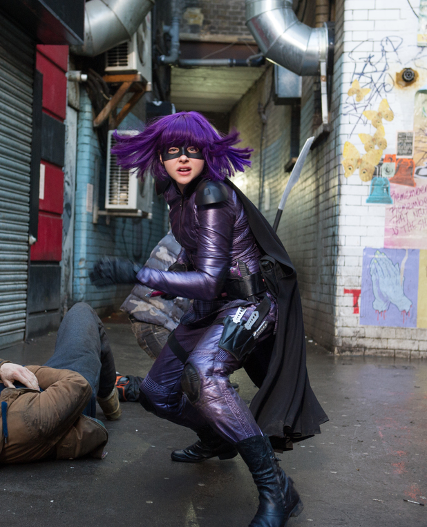 Chloe Moretz Hit-Girl Kick-Ass 2