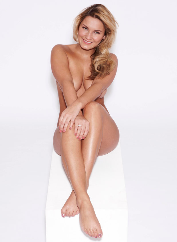 Sam Faiers naked for Closer Magazine