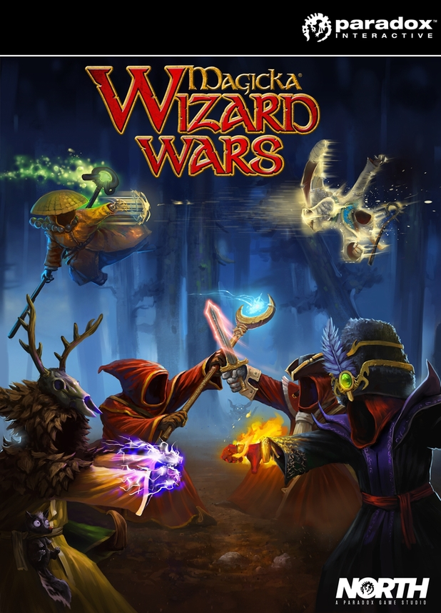 'Magicka: Wizard Wars' box art
