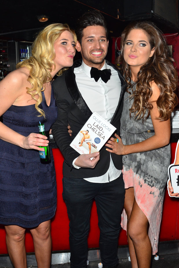 Francesca Hull, Ollie Locke and Binky Felstead