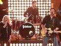 The Voice coaches perform a Fab Four hit during the new season.