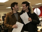 "Doctor Who's Steven Moffat says: ""Matt and David together was quite special."""