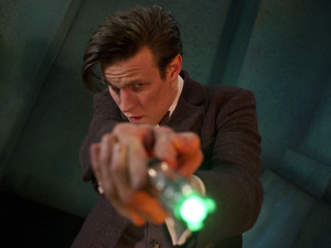 The Doctor (Matt Smith) in Doctor Who S07E02: 'The Rings of Akhaten'