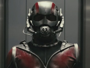 Still from Edgar Wright's Ant-man test reel