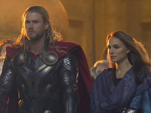 A preview still from 'Thor 2'