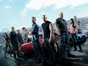 'Fast & Furious 6' poster