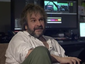 Peter Jackson in 'Hobbit' live event