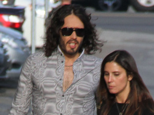 Russell Brand, Jimmy Kimmell show, tight trousers