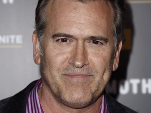 "Bruce Campbell arrives at USA Network and The Moth's ""A More Perfect Union: Stories of Prejudice and Power"" in 2012."