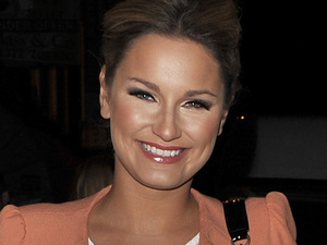 Sam Faiers attends the Joey Essex D'Reem Hair launch party at Sugar Hut, Essex
