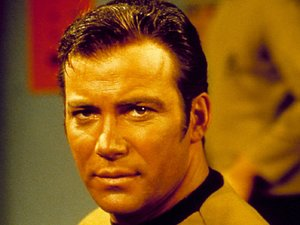 William Shatner in &#39;Star Trek&#39; during the 60s