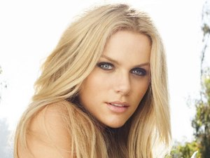 Brooklyn Decker poses for photos in Women's Health