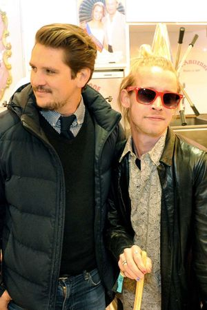 Macaulay Culkin, fair, paris, Foire du Trone