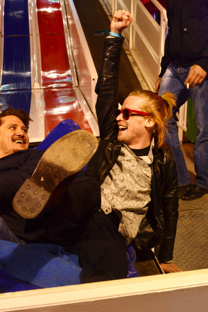 Macaulay Culkin, Foire du Trone, Paris, fair, Easter, amusement park, rides