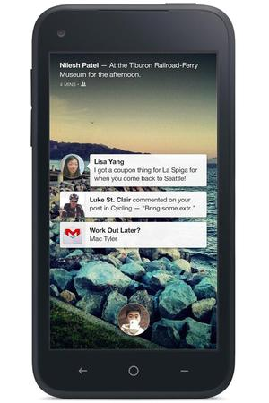 The new Facebook Home - Notifications