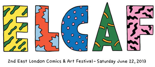 East London Comics and Art Festival 2013 logo