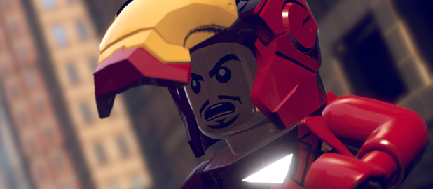 Iron Man in LEGO Marvel Heroes