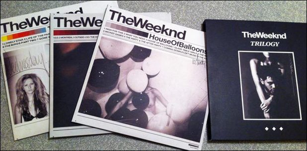 The Weeknd 'signed' trilogy vinyl boxset