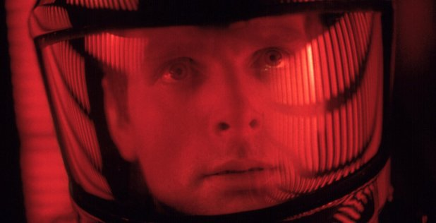 Keir Dullea in '2001: A Space Odyssey' (1968)