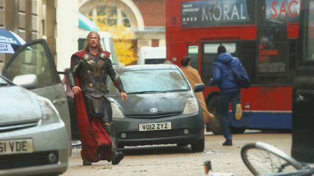 Thor gets lost
