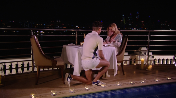 'TOWIE' series eight finale: Joey gets down on one knee to propose to Sam