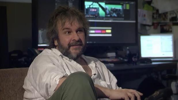 Peter Jackson in 'Hobbit' live event