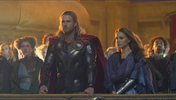 Chris Hemsworth and Natalie Portman