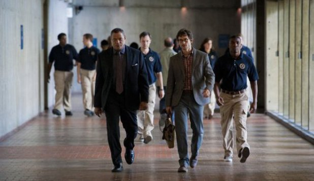 Laurence Fishburne as Agent Jack Crawford, Hugh Dancy as Special Agent Will Graham in Hannibal S01E01: 'Apertif'