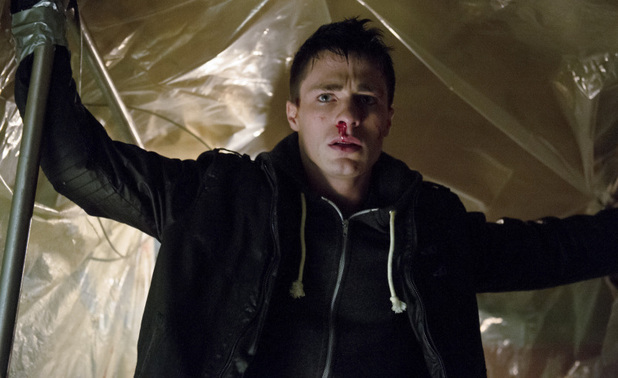 Colton Haynes as Roy Harper in Arrow S01E18: 'Salvation'