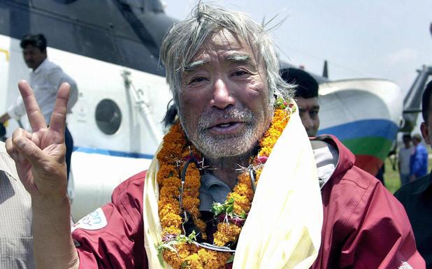 Japanese mountainer Yuichiro Miura