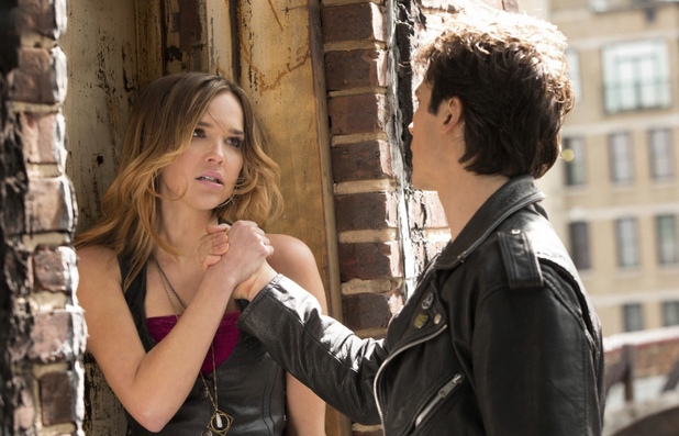 Arielle Kebbel as Lexi and Ian Somerhalder as Damon Salvatore in The Vampire Diaries S04E17: 'Because The Night'