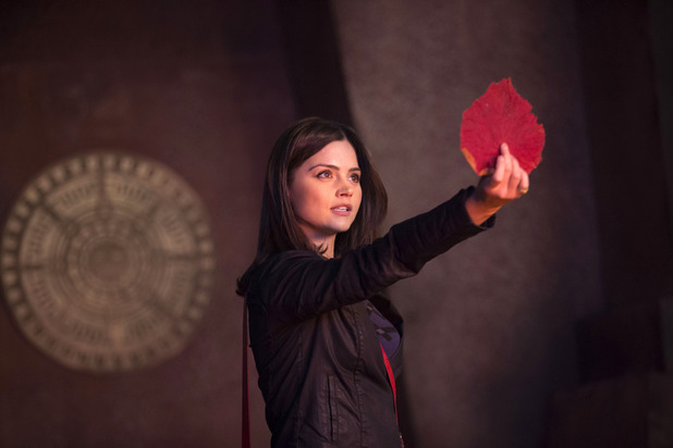 Clara (Jenna-Louise Coleman) in Doctor Who S07E02: 'The Rings of Akhaten'