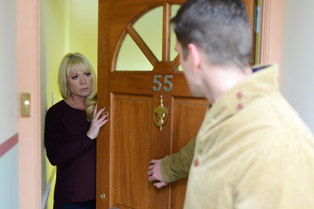 Sharon tells Jack to leave her alone.