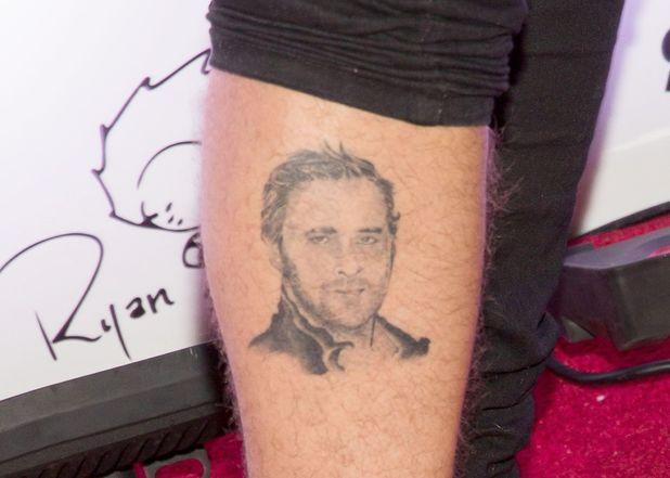 Ryan Cabrera, Ryan Gosling tattoo
