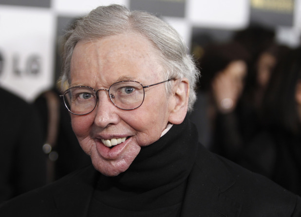 Roger Ebert arrives at the Independent Spirit Awards on March 5, 2010