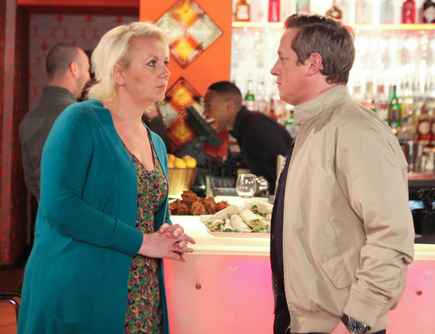 Eileen tells Paul she can't live in constant fear