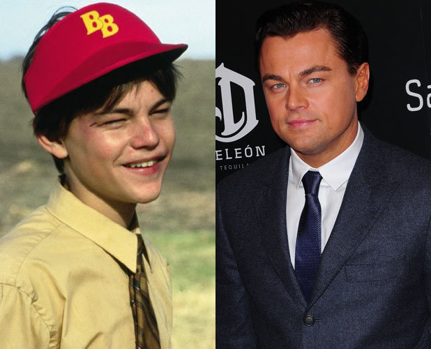 Male Child Actors Then And Now Leonardo dicaprio