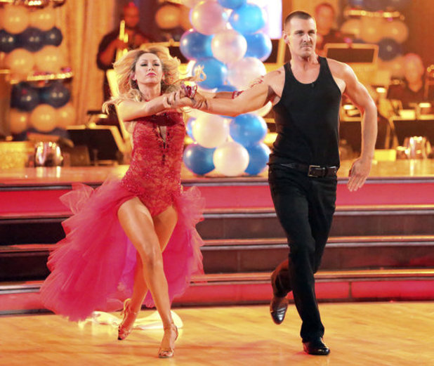 Dancing with the Stars - week 3: Kym Johnson and Ingo Rademacher