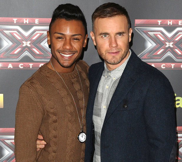 Marcus Collins, Gary Barlow, X Factor