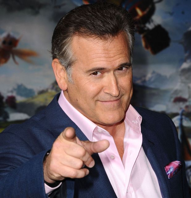Bruce Campbell arrives for the 'Oz the Great and Powerful' film premiere.