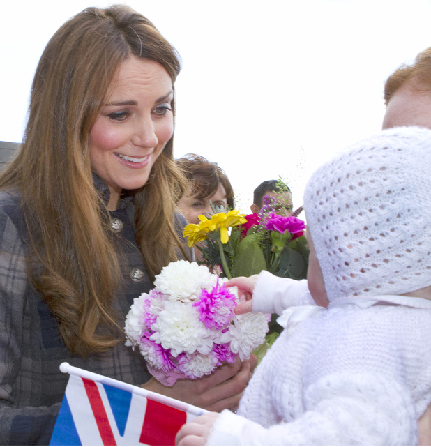 Duchess of Cambridge, Kate Middleton, baby, Glasgow