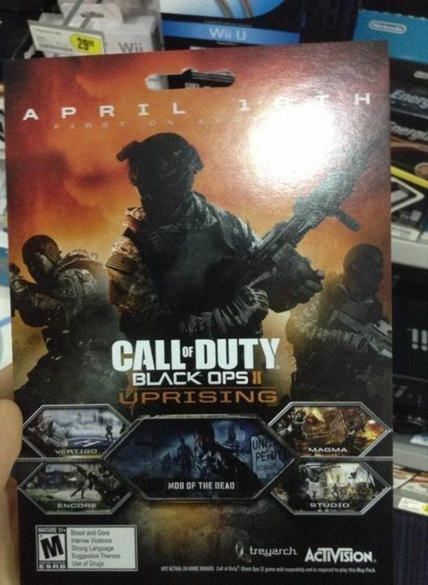 Call of Duty: Black Ops 2 - 'Uprising' DLC artwork