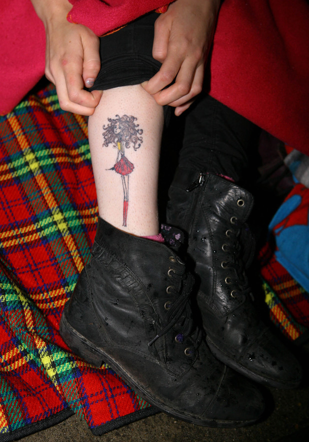 Hermione, Emma Watson tattoo, Harry Potter fan, fan tattoos