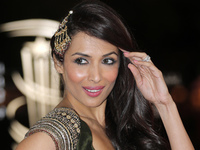 Malaika Arora Khan arrives at the Marrakech International Film Festival in Marrakech, Saturday, Dec.1, 2012