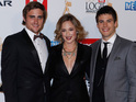 Celebrities attend the annual Logie Awards.