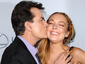 Charlie Sheen, Lindsay Lohan, Scary Movie 5, premiere