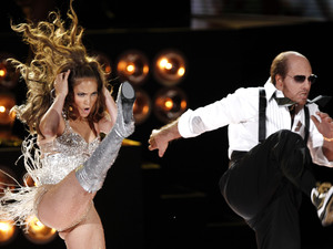 Tom Cruise, Jennifer Lopez, dance, stunt, MTV Movie Awards 2010